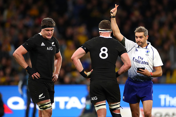 2019 Rugby World Cup: World Rugby referee boss Alain Rolland issues red card warning on high tackles
