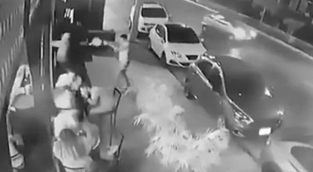 Watch: Gangsters open fire on pub-goers in tourist hotspot in Mexico