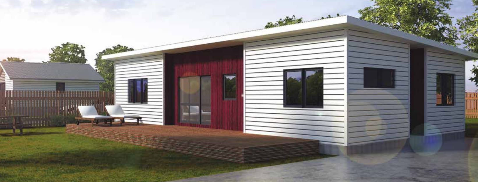 Flat-pack houses: A two-bedroom home for $69,000 - Bunnings