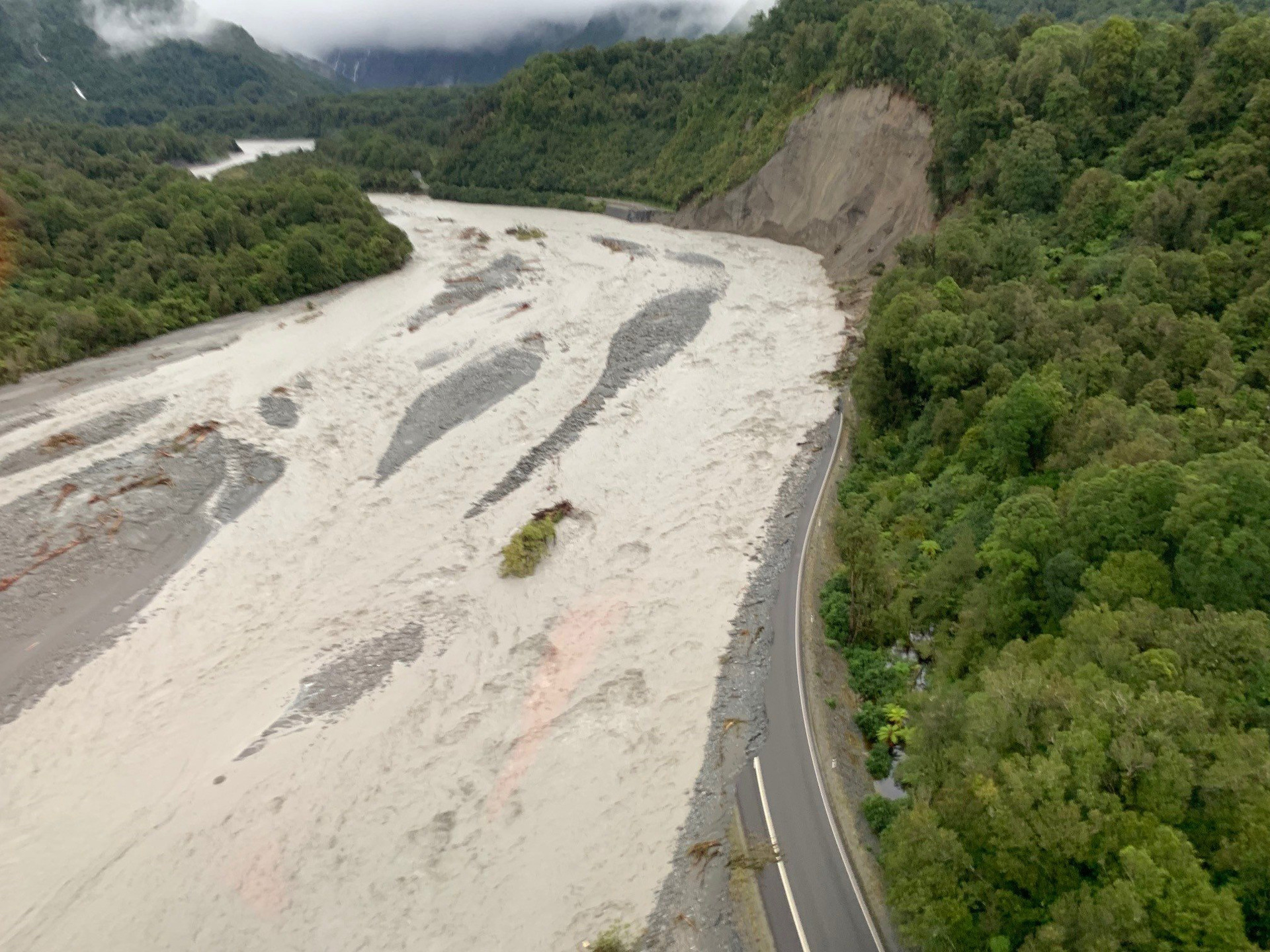 Fox Glacier road to remain closed indefinitely