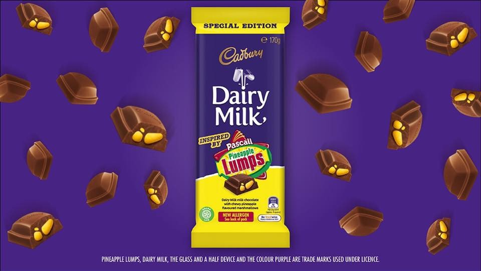 Are Pineapple Lumps chocolate blocks coming to NZ?