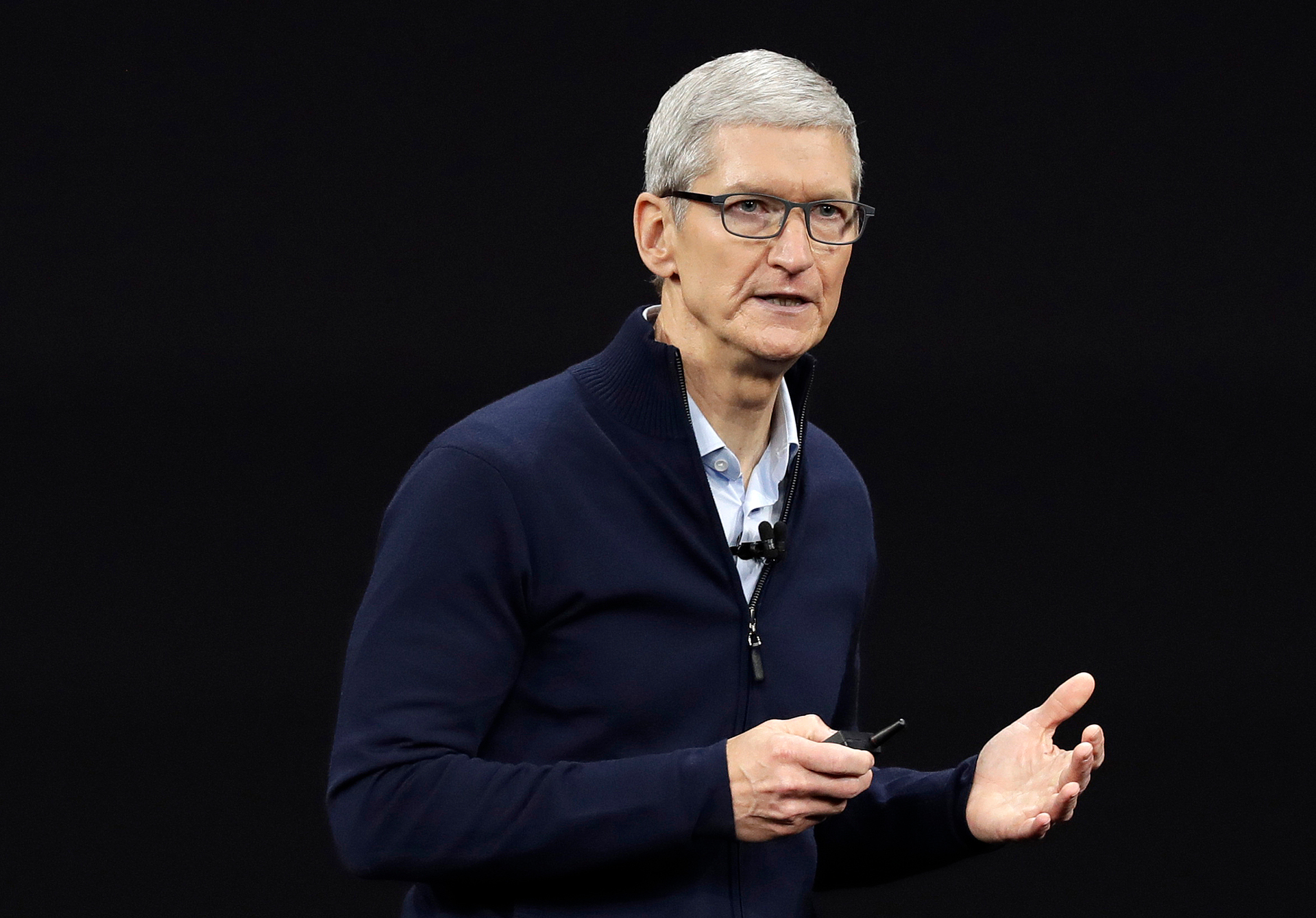 Apple CEO Tim Cook's unsettling warning