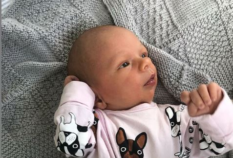 Matilda Green shares adorable baby update one month after birth of first son