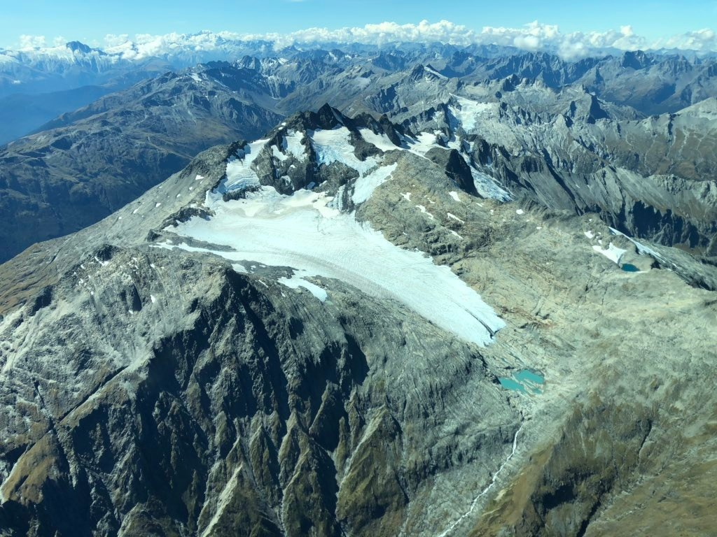 NZ's glaciers 'sad and dirty' after third-hottest summer