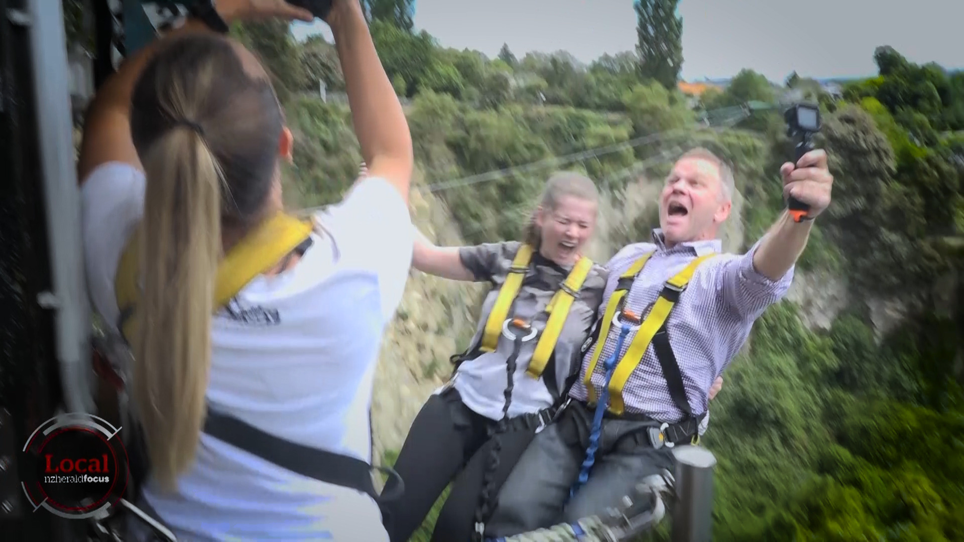 Local Focus: High School leavers launch Taupō bungy with leap into next chapter