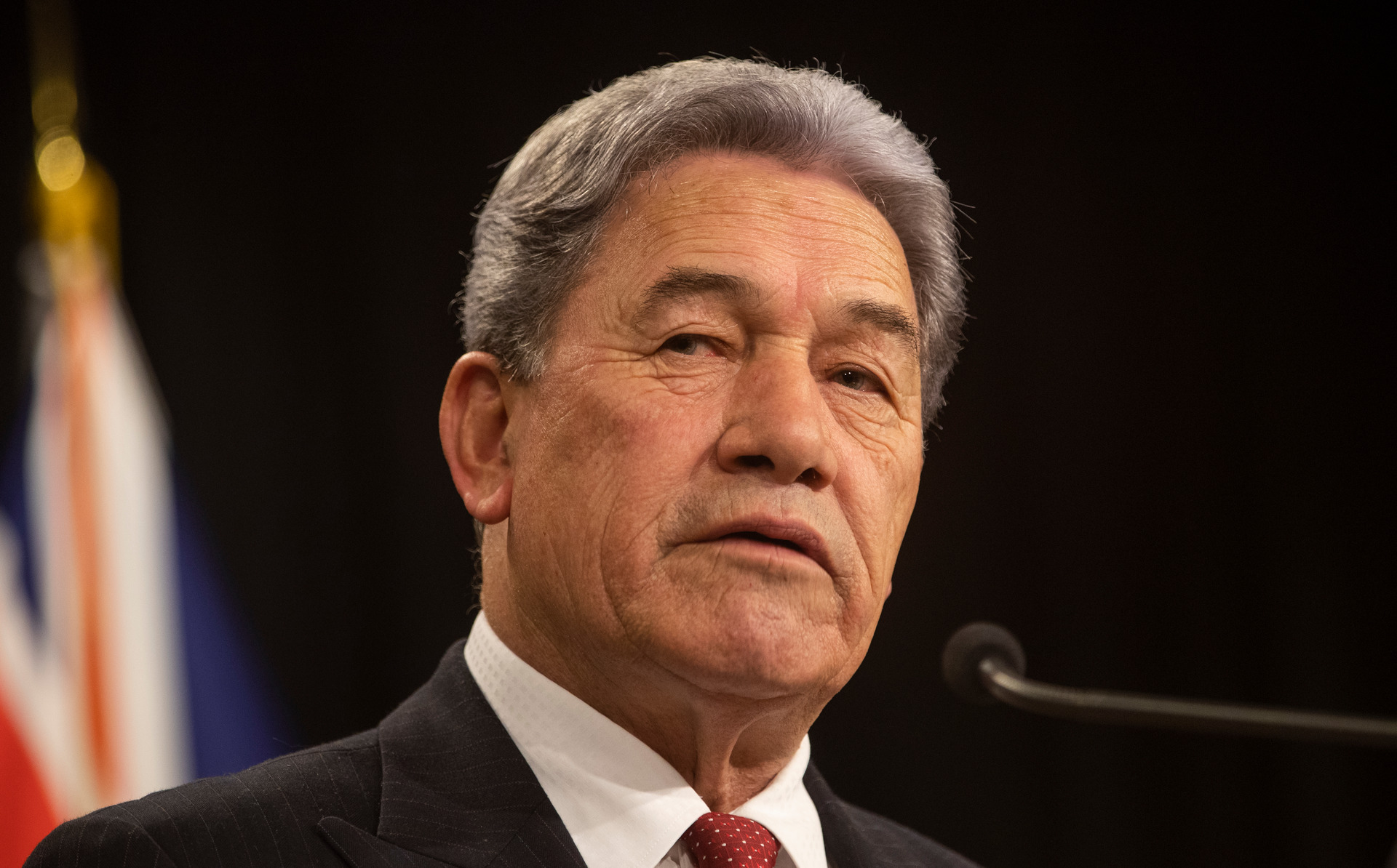 NZ First Leader Winston Peters: National's plan to raise the retirement age bad news