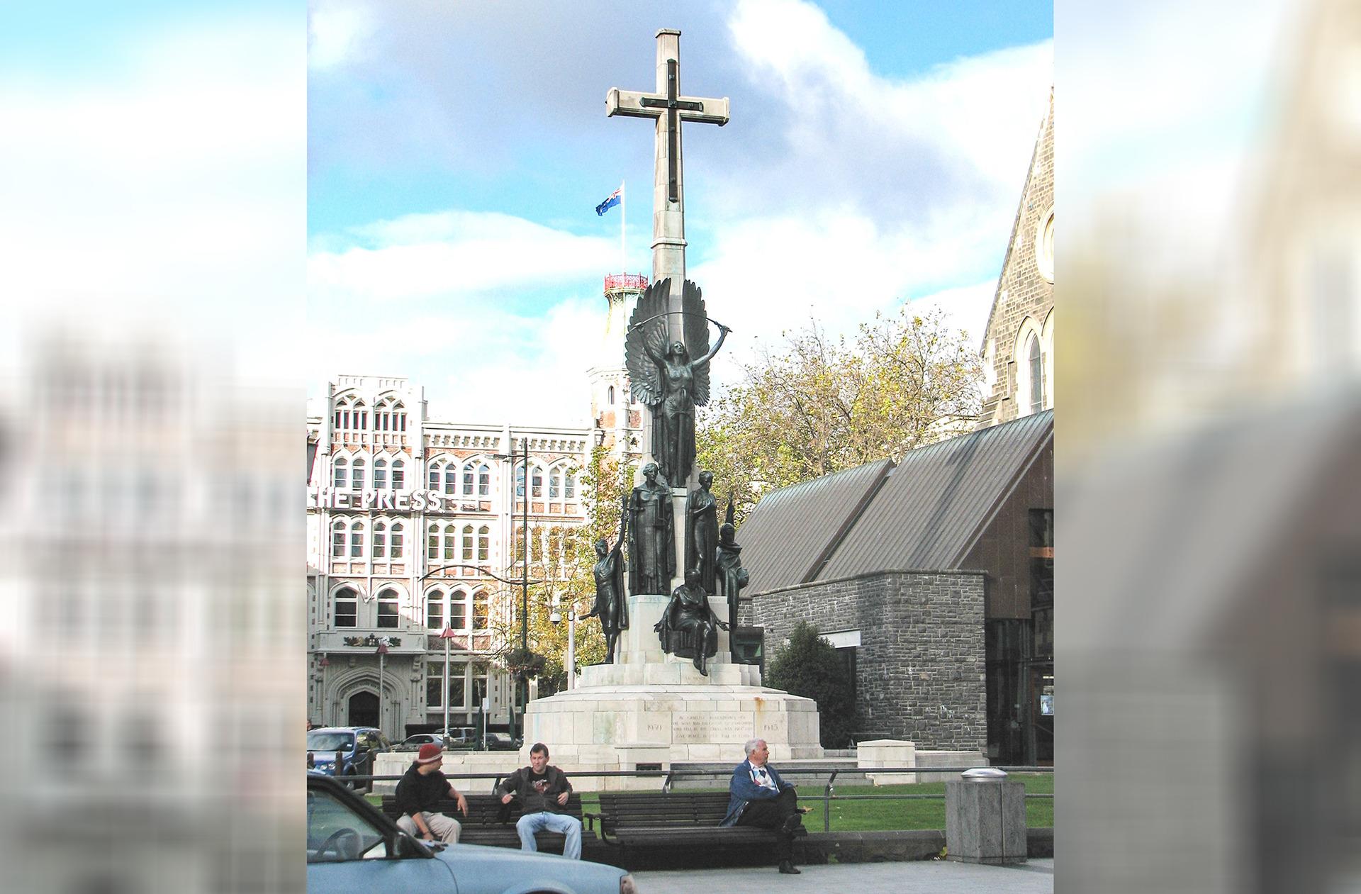 Christchurch RSA applies to move historic city centre cenotaph off-limits since 2011 quake