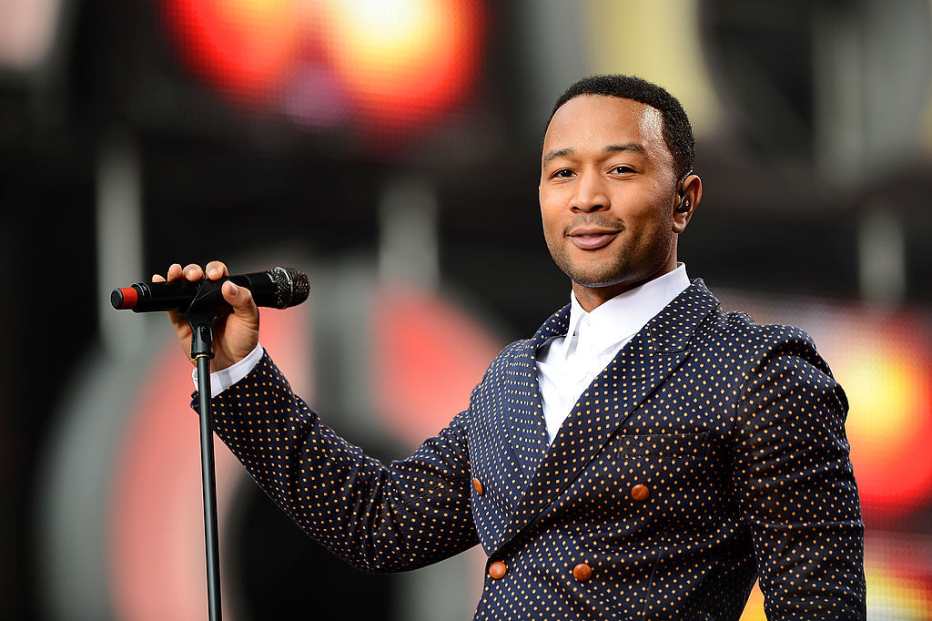 Singer John Legend says President Donald Trump's language has 'fuelled the hate'