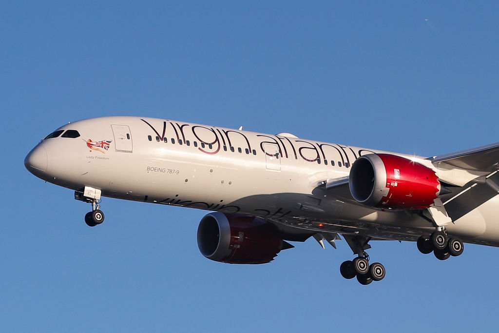 'Faster than sound' Virgin Atlantic LA to London flight breaks speed records at 1290kph