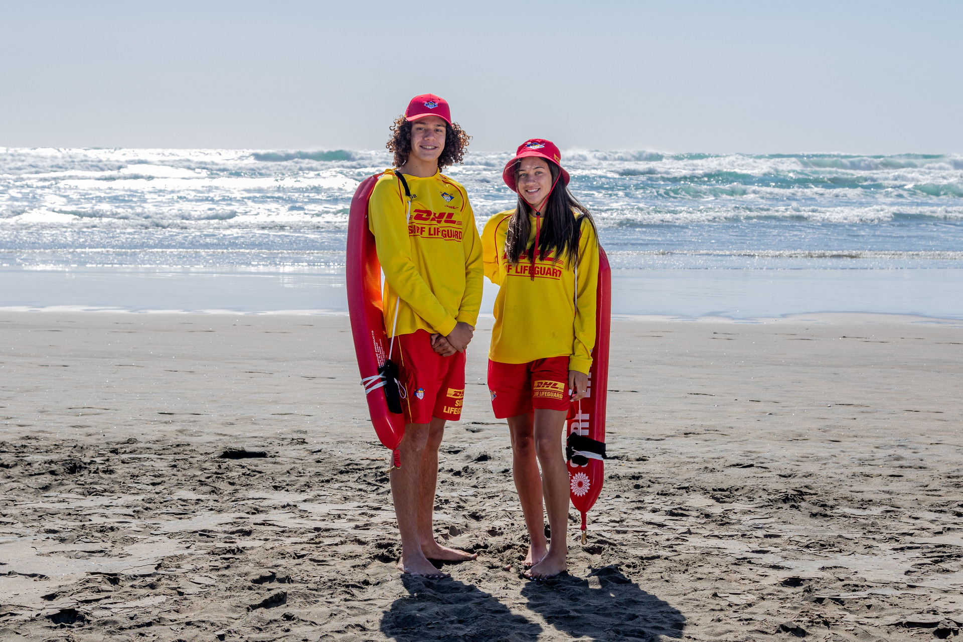 Behind the uniform: Try and guess lifeguards' day jobs