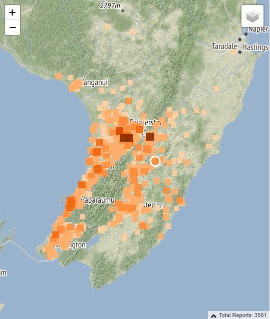 Magnitude 4.3 quake hits near Palmerston North