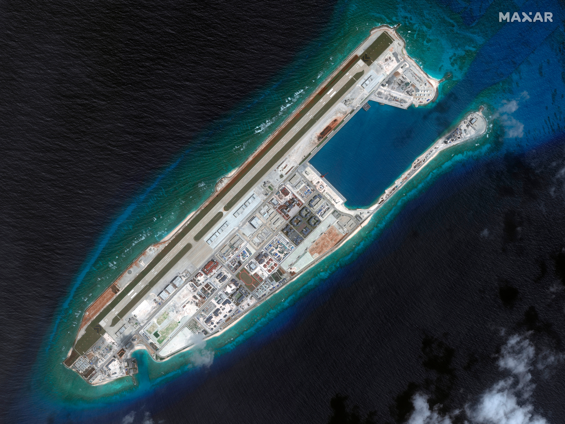 China's 'dangerous' South China Sea plan almost complete