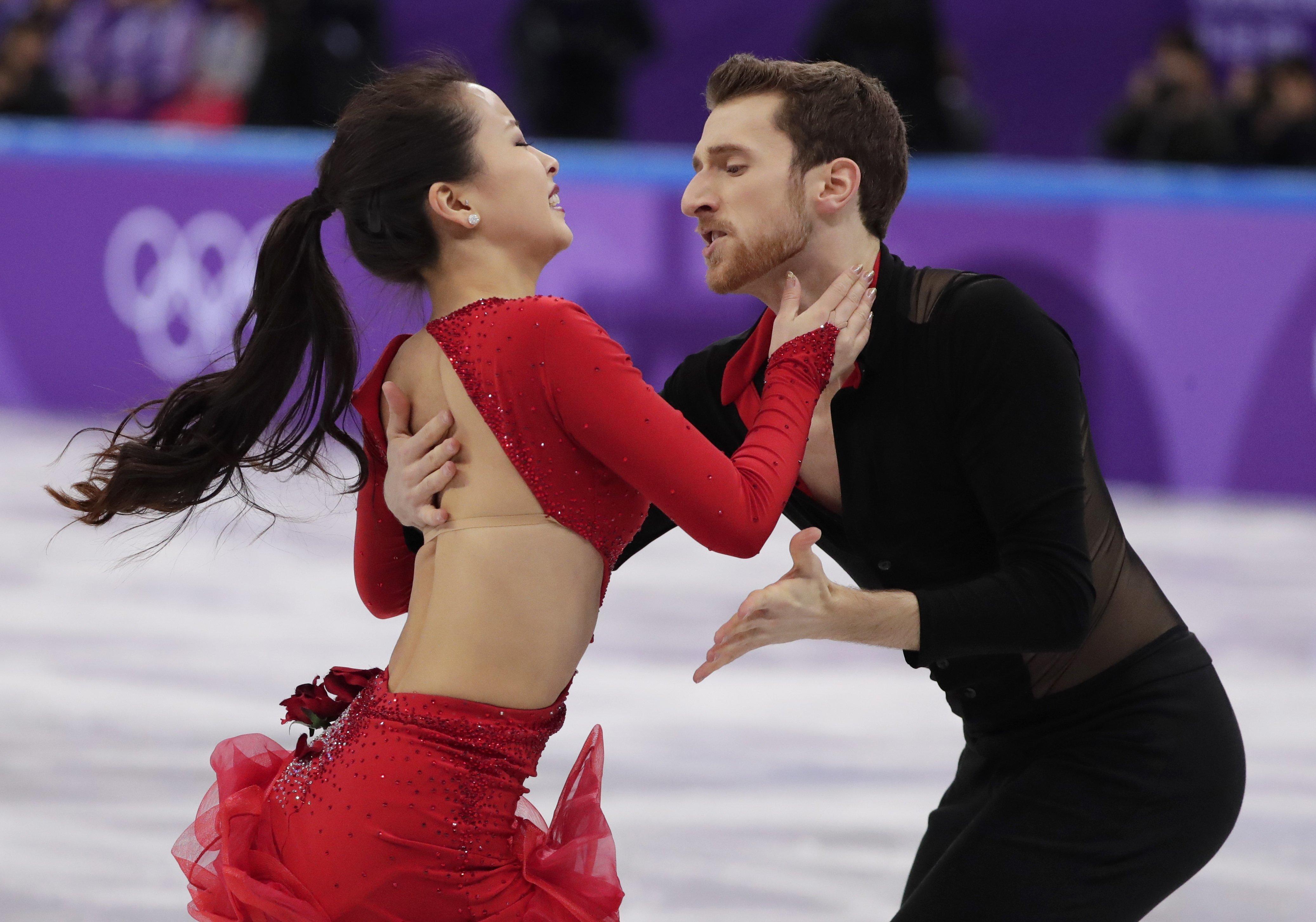 Winter Olympics Wardrobe Malfunction In Figure Skating