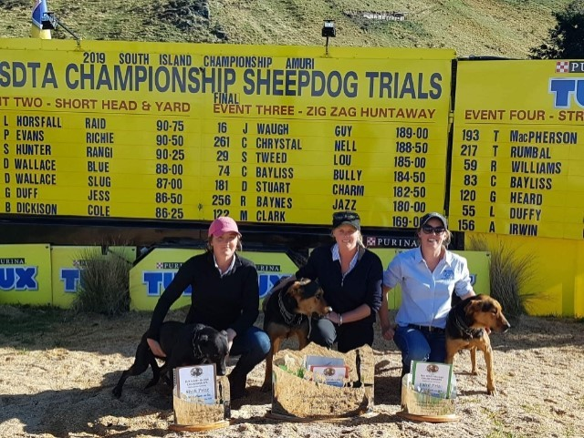 Female first; Gisborne woman takes out South Island Sheep Dog trials