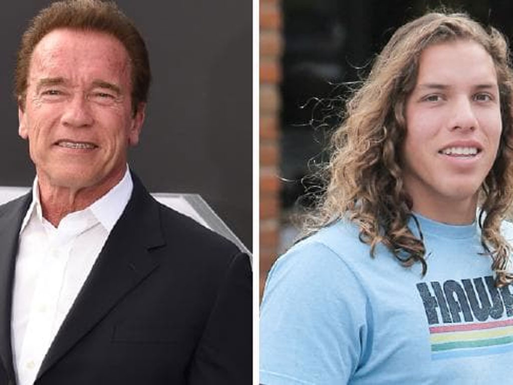 Arnold Schwarzenegger's son is starting to look exactly like the body building legend