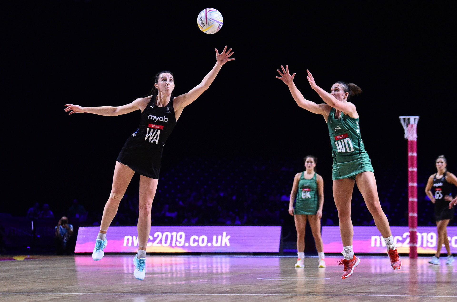 Netball: Silver Ferns secure World Cup semifinal one match early with victory over Northern Ireland