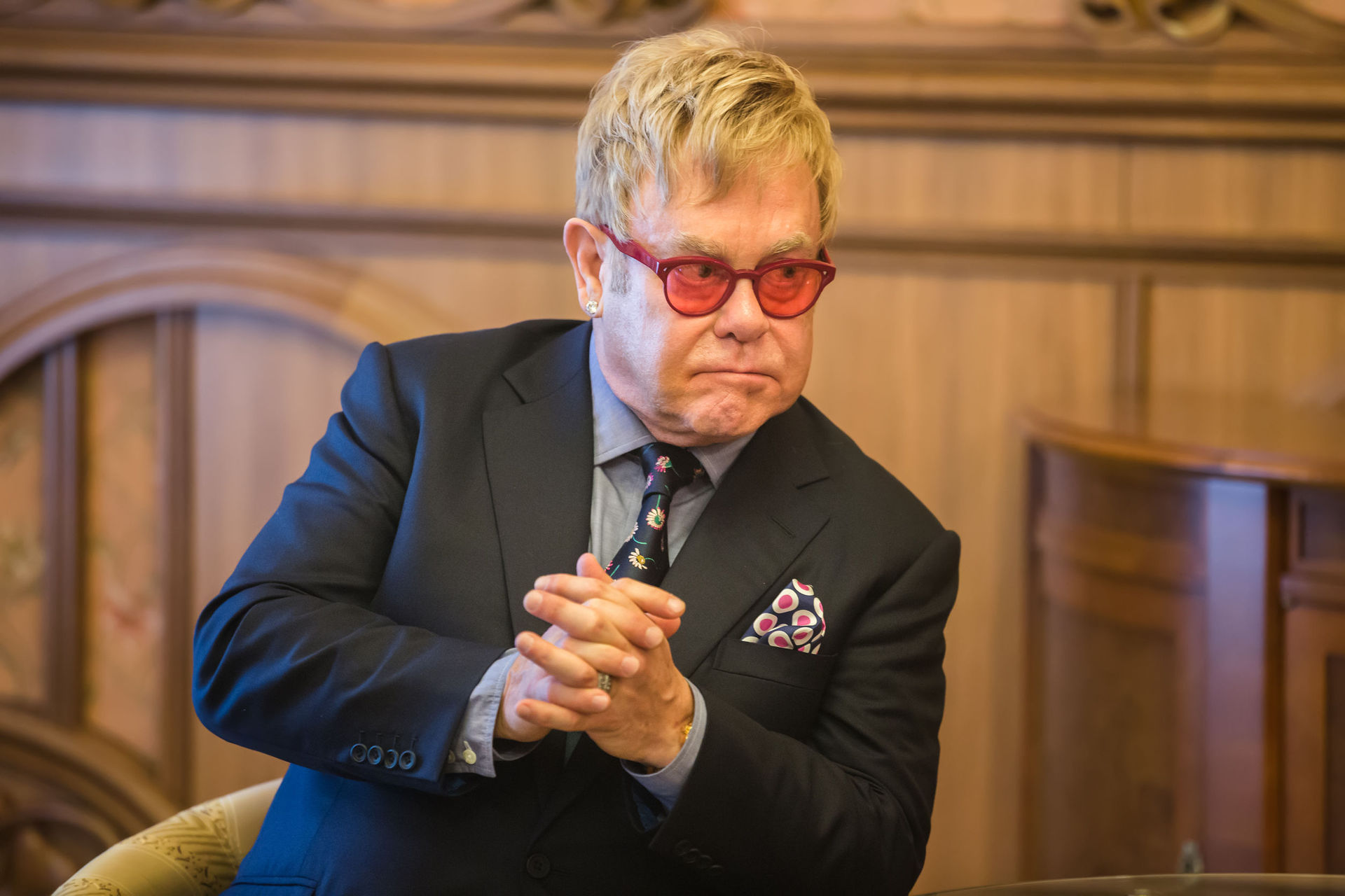 Elton John defends Meghan Markle and Prince Harry over use of private jet on lavish trip