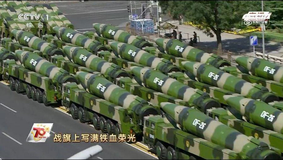 China releases footage of 'Guam killer' DF-26 ballistic missile in 'clear message to the US'