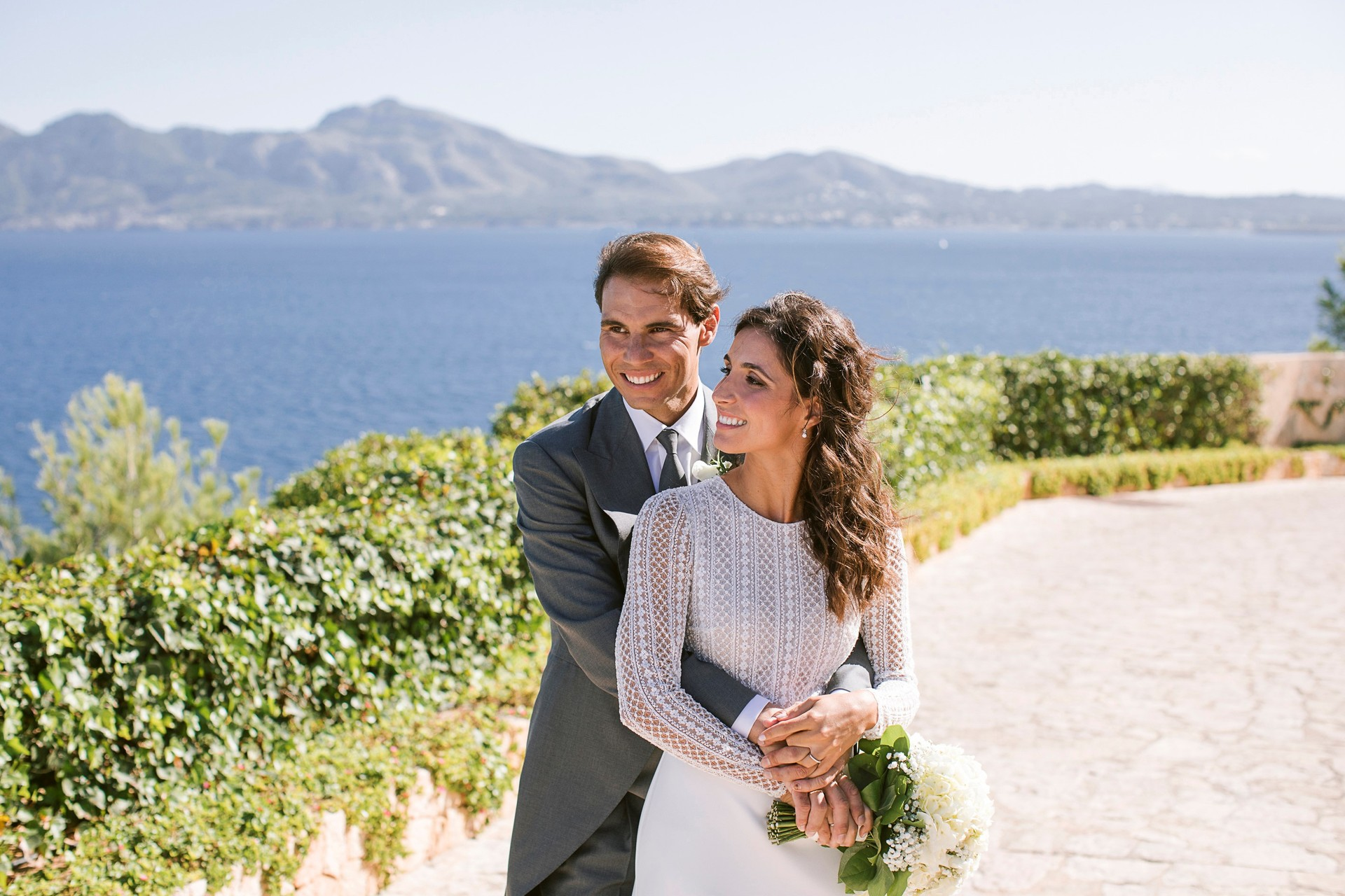 First official photos of Rafael Nadal's wedding made public