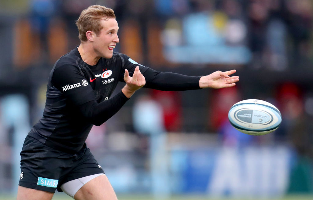 Watch out ABs? English star hailed as a 'young Beauden Barrett'