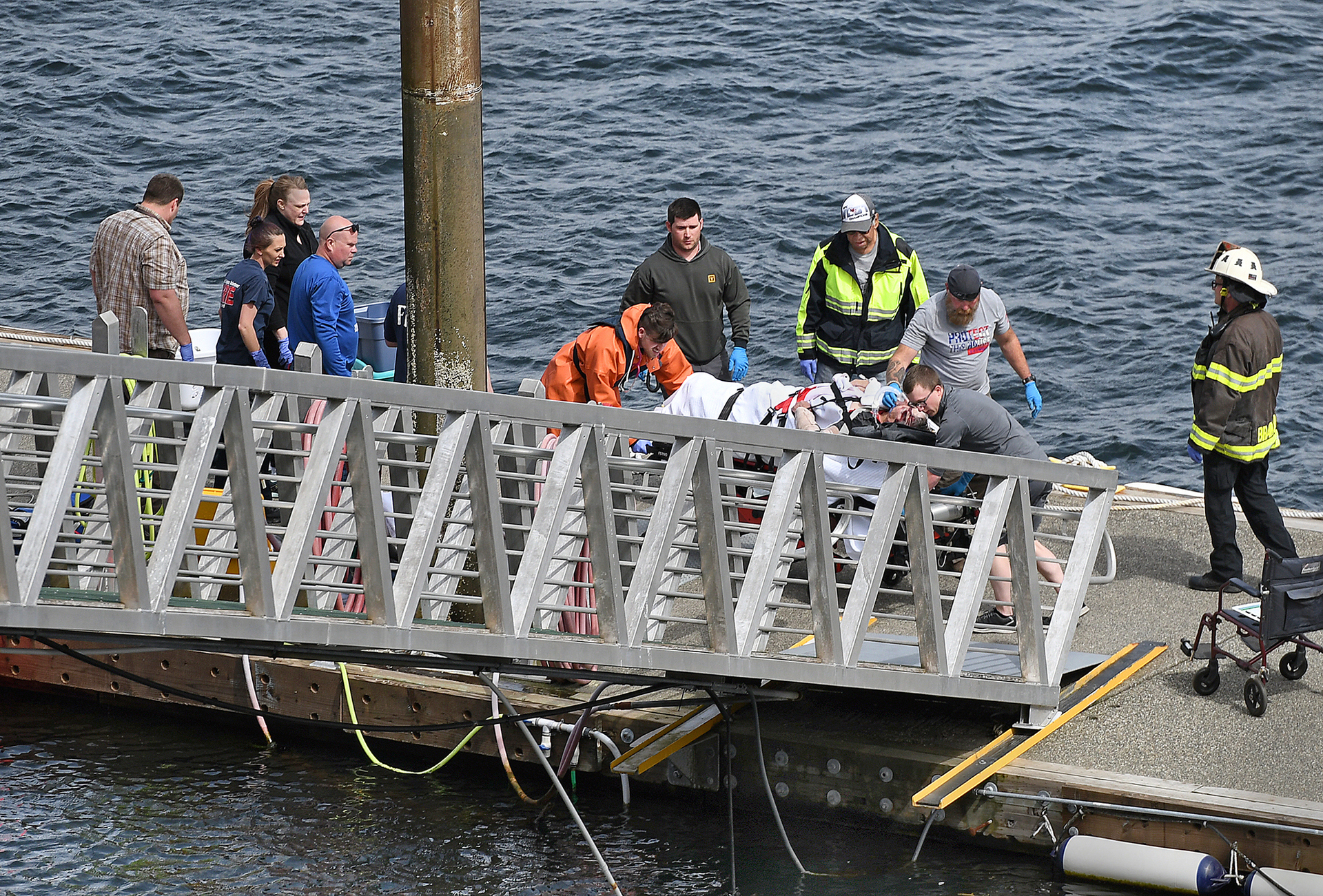 Search for two missing as four die, 10 rescued after midair plane collision in Alaska