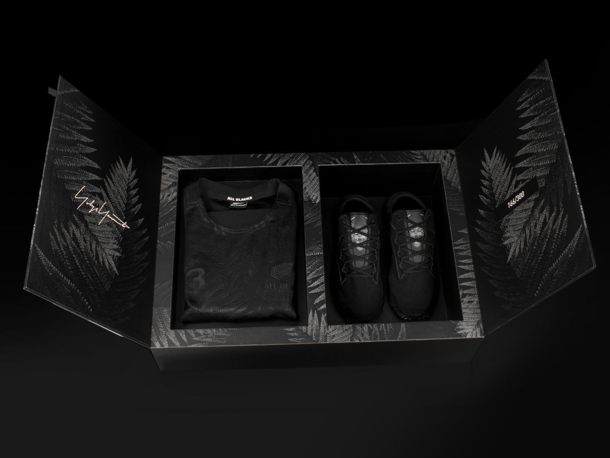 Is this the most expensive All Blacks fan outfit ever?