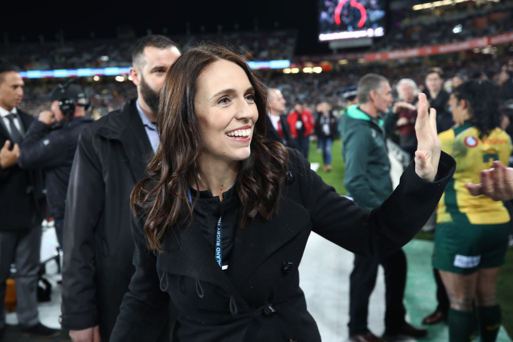 Jacinda Ardern reveals her favourite All Blacks player