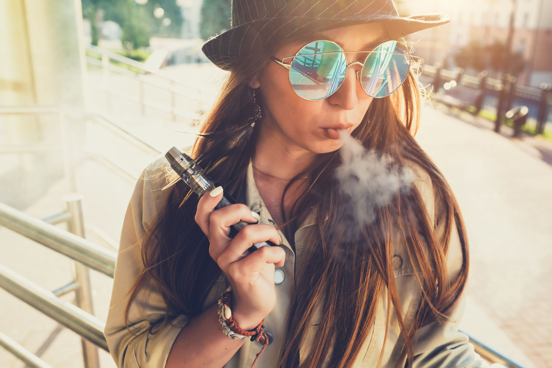 Vaping linked to female infertility, study shows