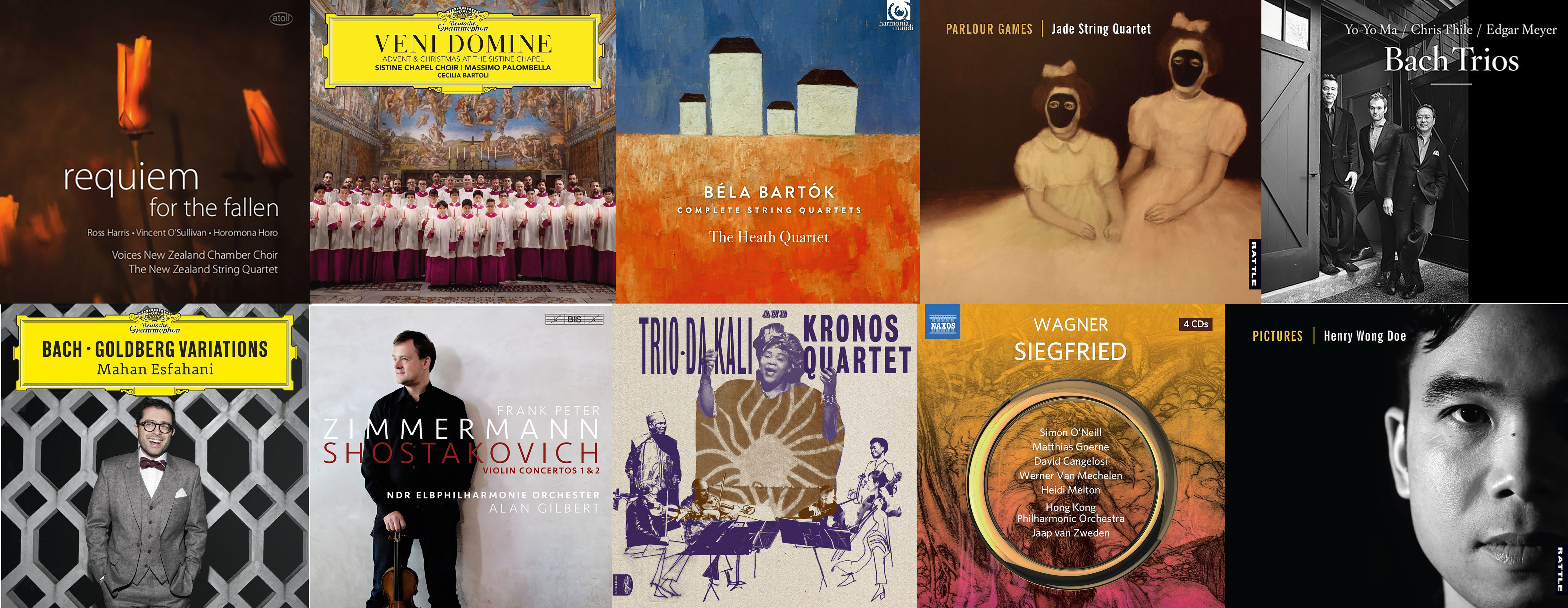 Sounds of Christmas: William Dart picks his top 10 classical CDs of