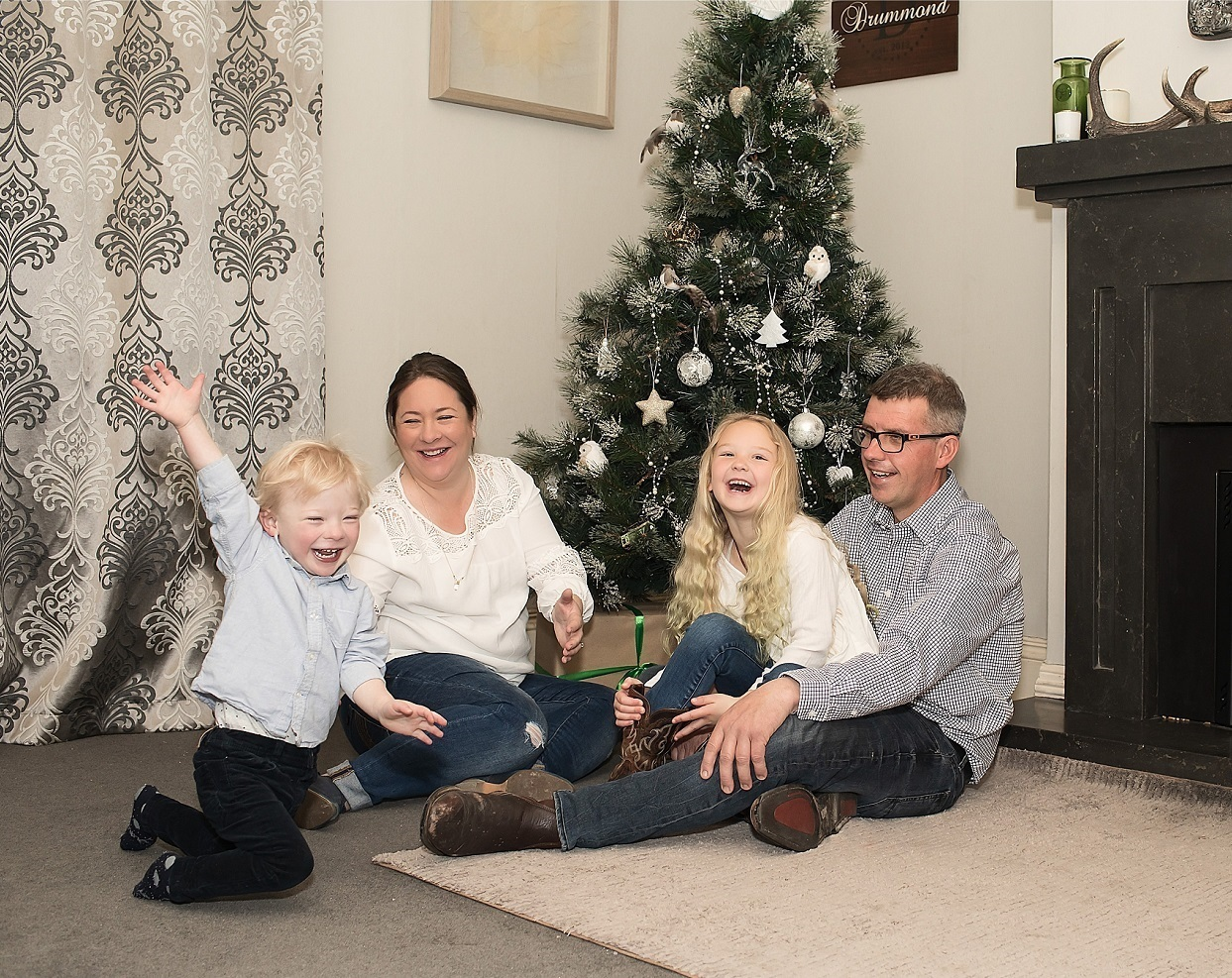 Heart boy's special Christmas: 'Nothing else mattered if we were together'