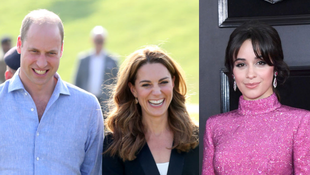 Wills and Kate meet pop star Camila Cabello