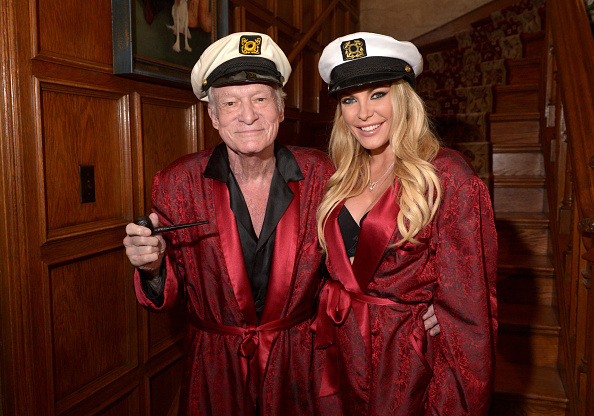 Hugh Hefner's smoking jacket, fishnet leg lamp and first editions up for auction