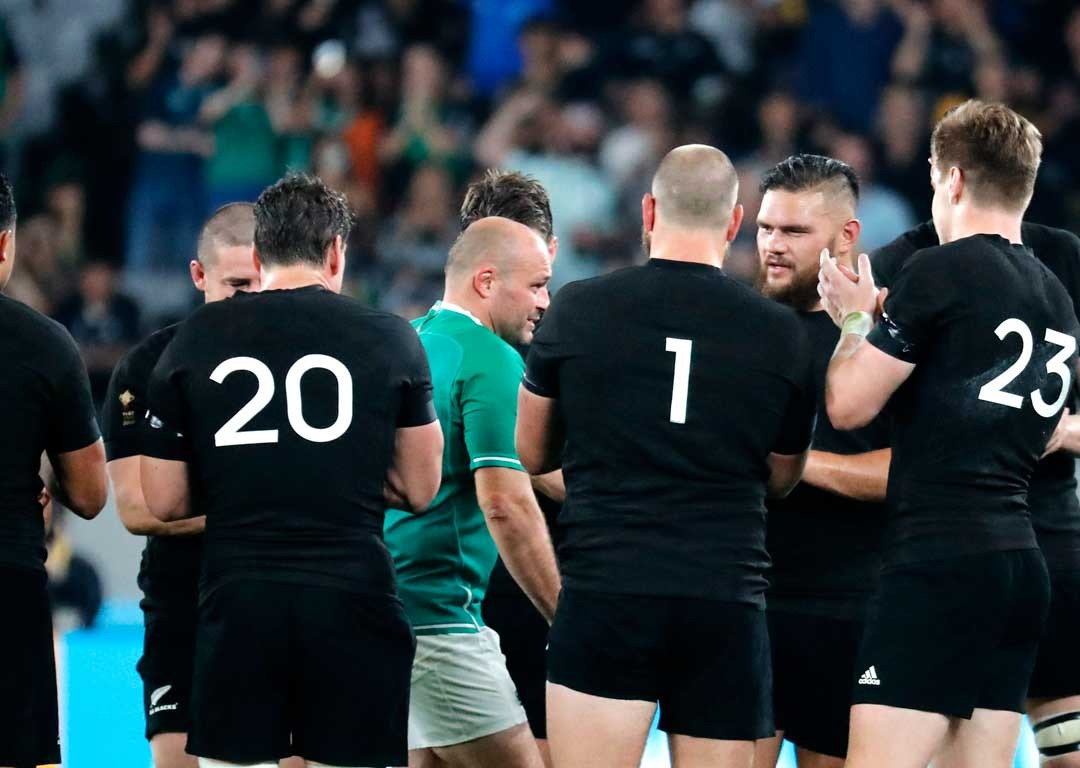 All Blacks' touching tribute after Ireland thumping