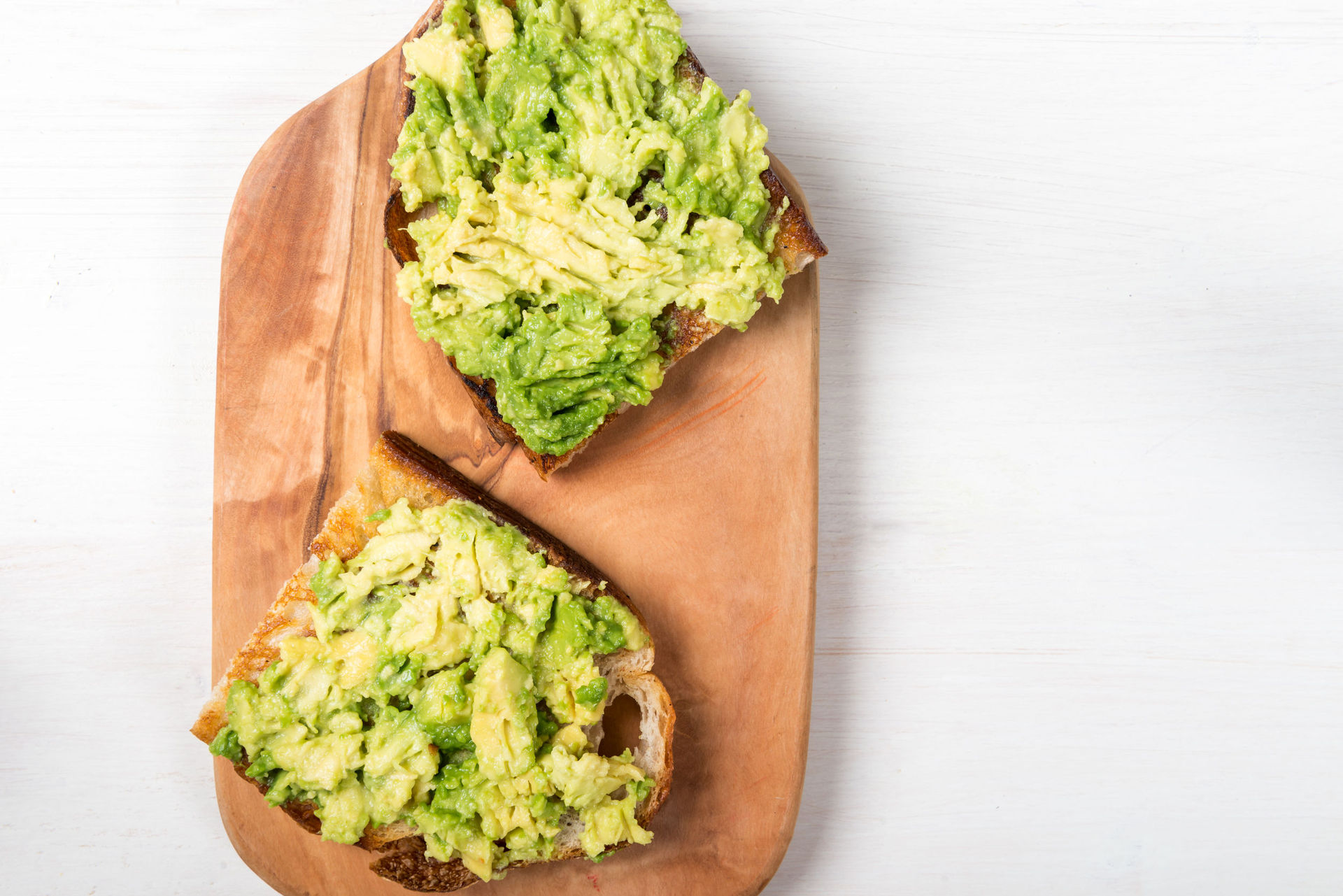 Eating avocado has many health benefits, but not if you eat it on toast warn researchers