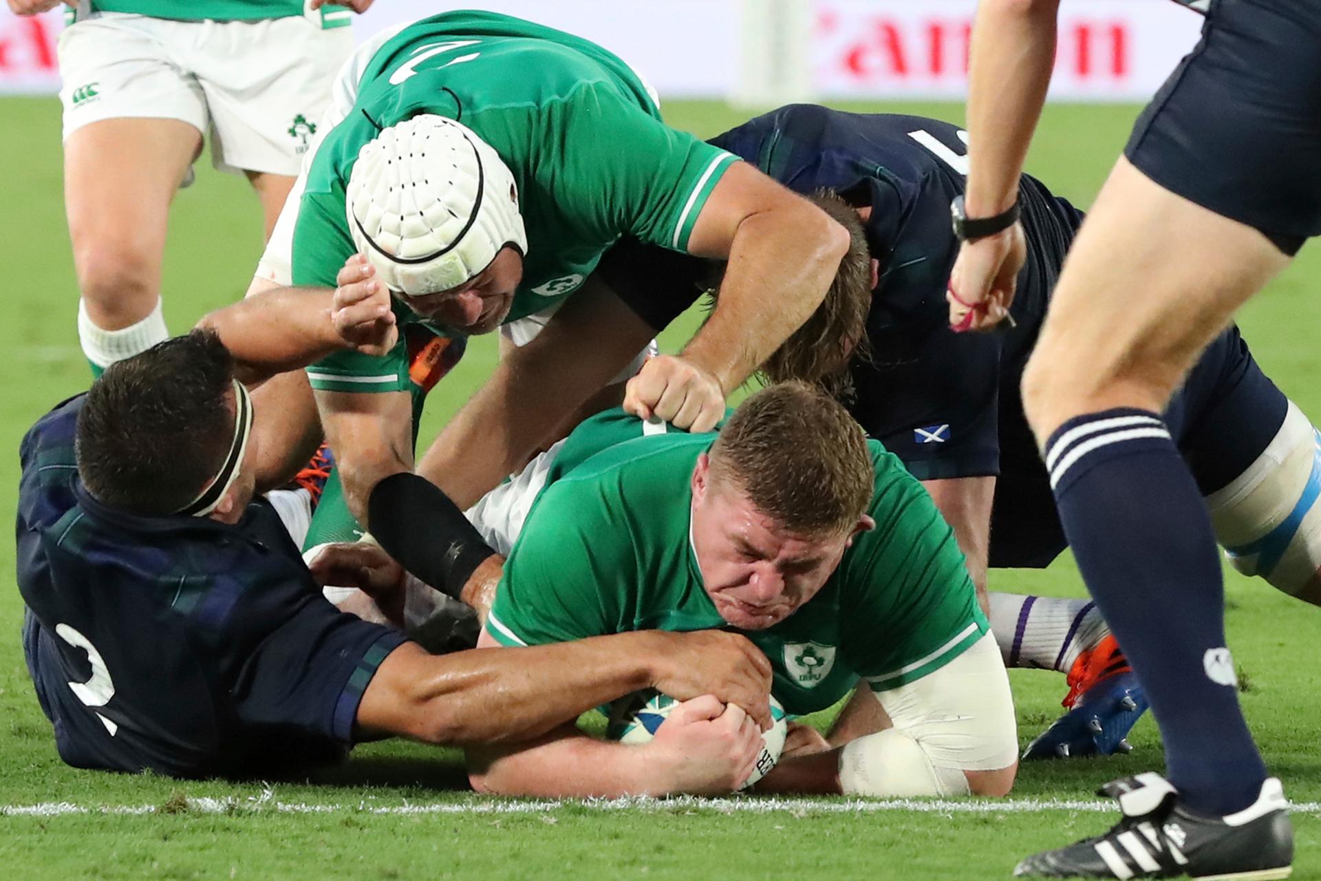 World Cup warning: Ireland steamroll Scotland