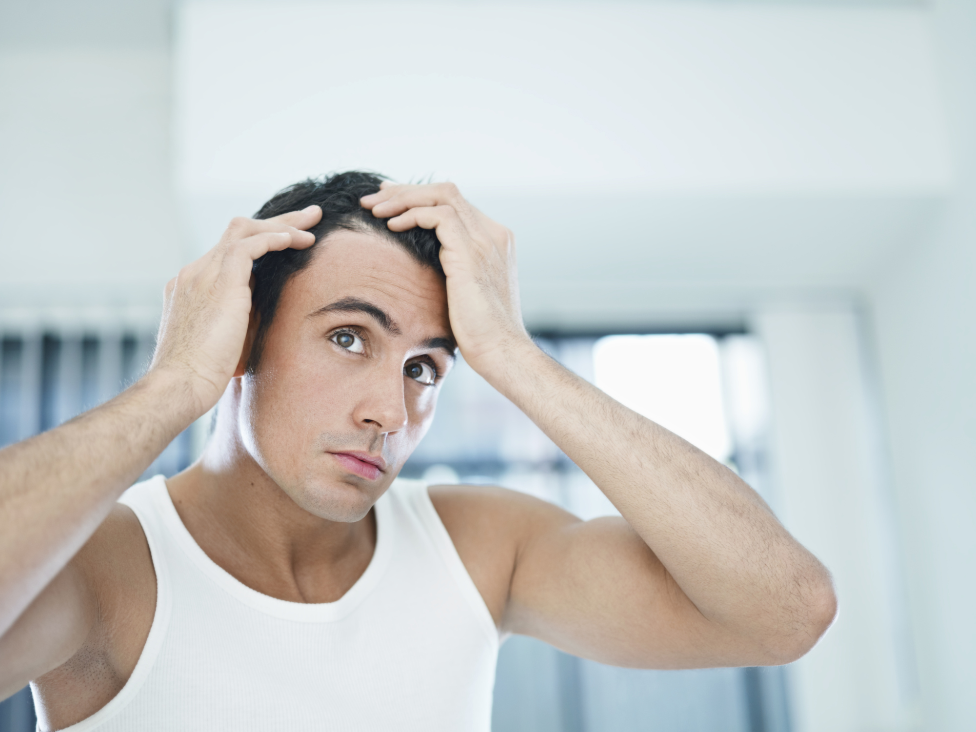 Starting to thin out? Hair loss doesn't have to lead to