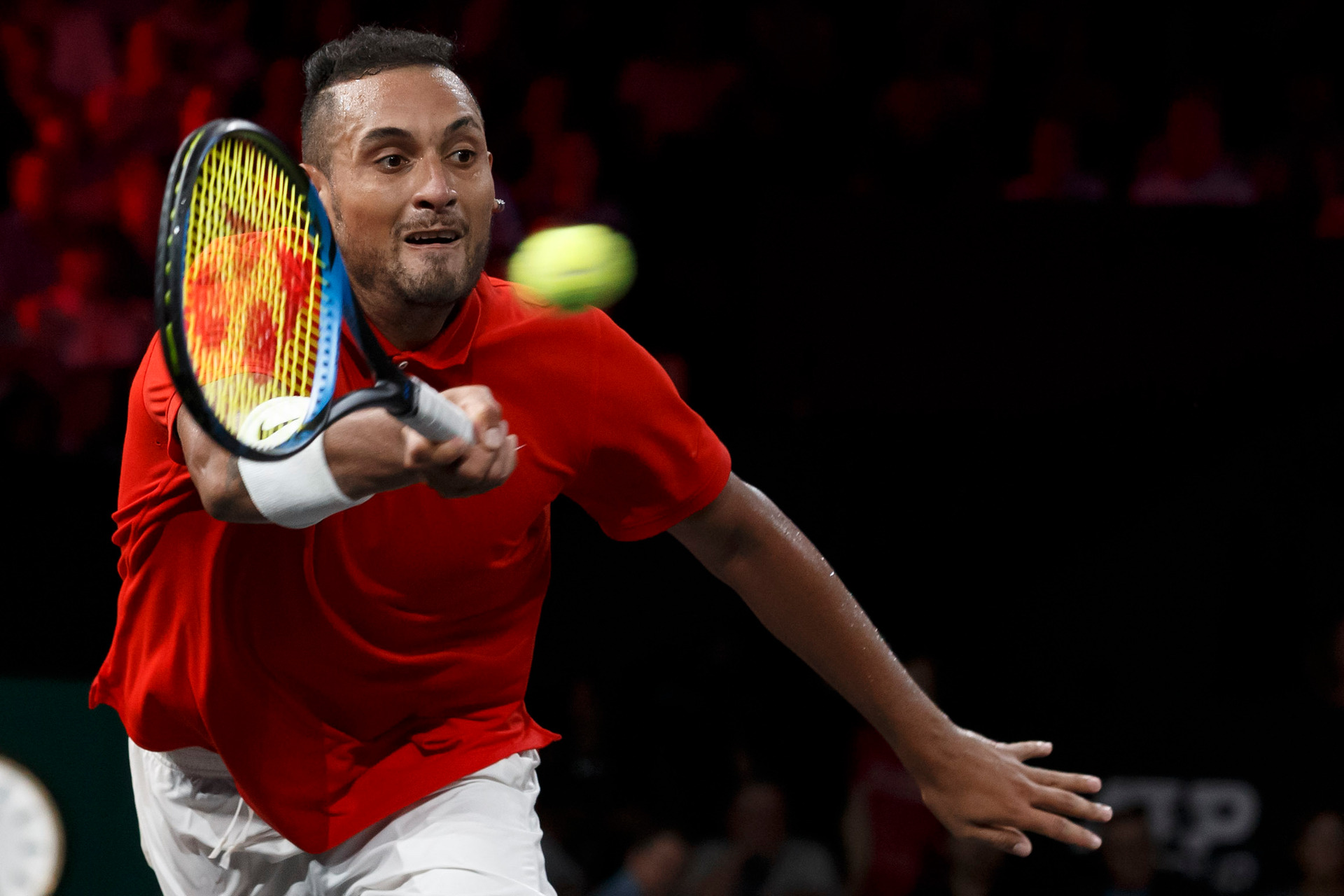 Image result for kyrgios laver cup 2019