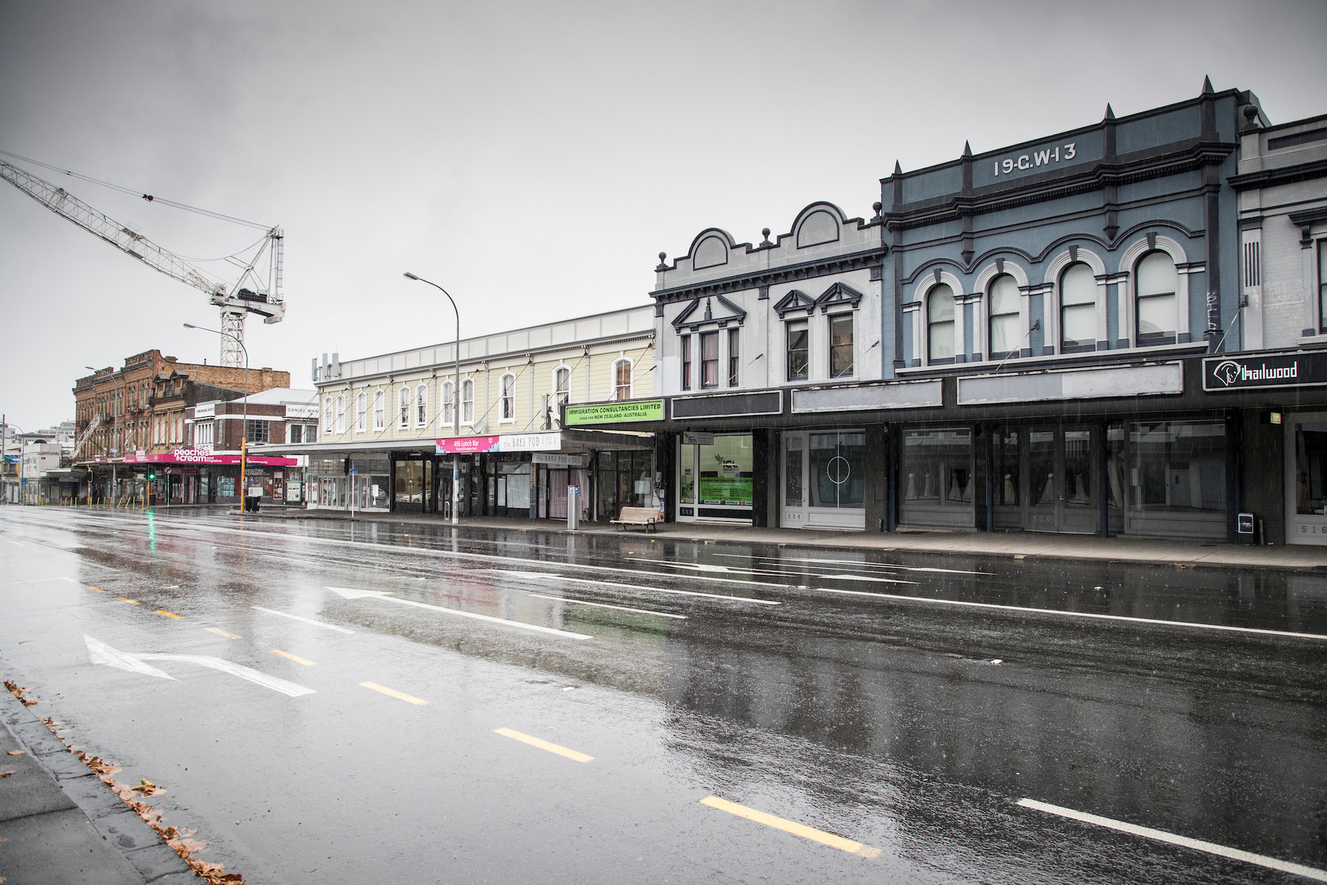 Revealed: The photos that show an abandoned Auckland at Easter