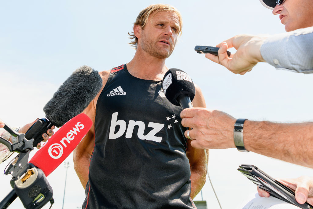 Scott Robertson's text message to Ian Foster revealed after All Blacks snub