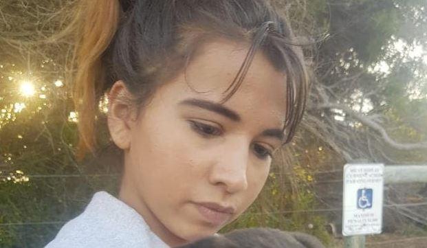 Perth schoolgirl's heartbreaking message before death