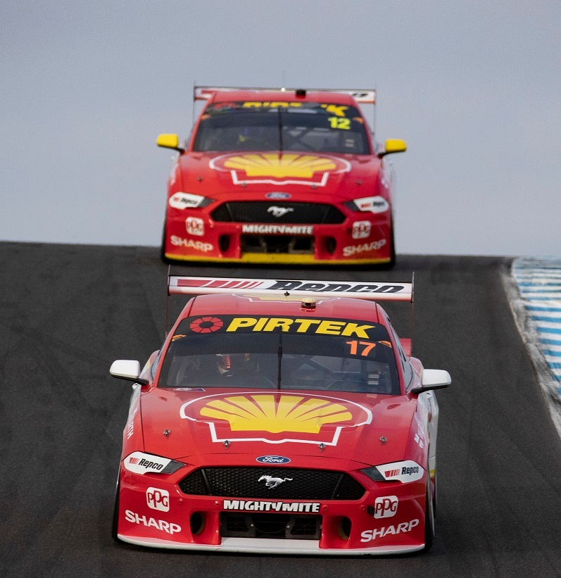 Motorsport: Mustang move miffs Scott McLaughlin