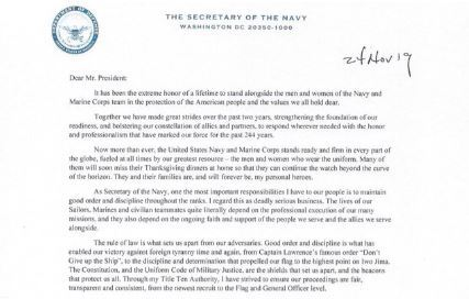 Navy Secretary Richard Spencer lashes Trump in resignation ...