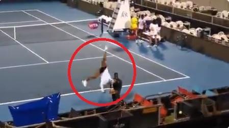 Watch: Serena Williams' bizarre secret ASB Classic celebration