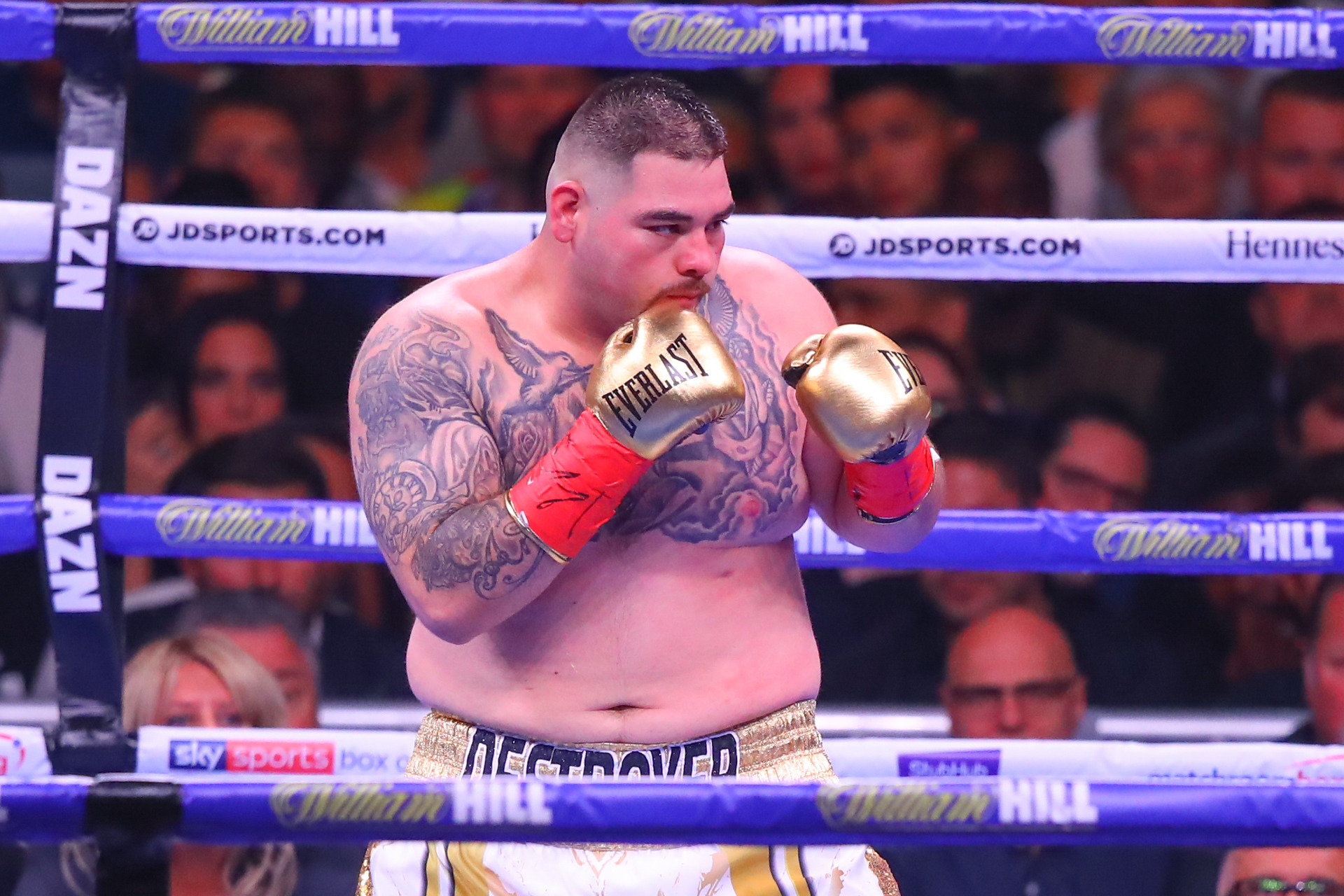 Not heavy anymore: Boxing champ's dramatic weight loss