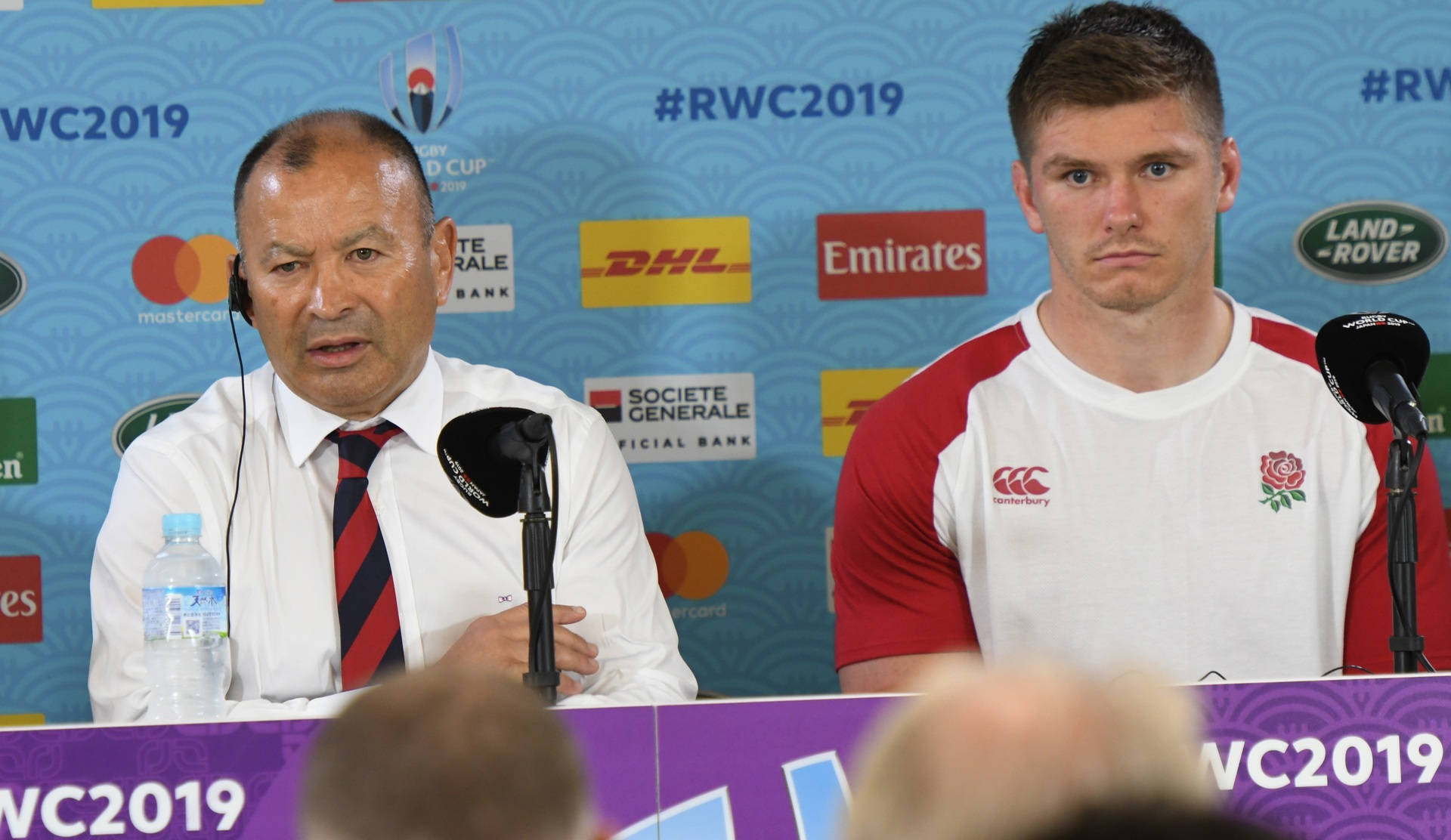 World Cup live: England quizzed on Eddie Jones' shock claims
