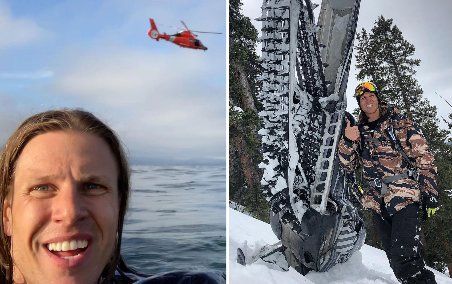 Daredevil selfie pilot denies crash was a stunt, blames fuel