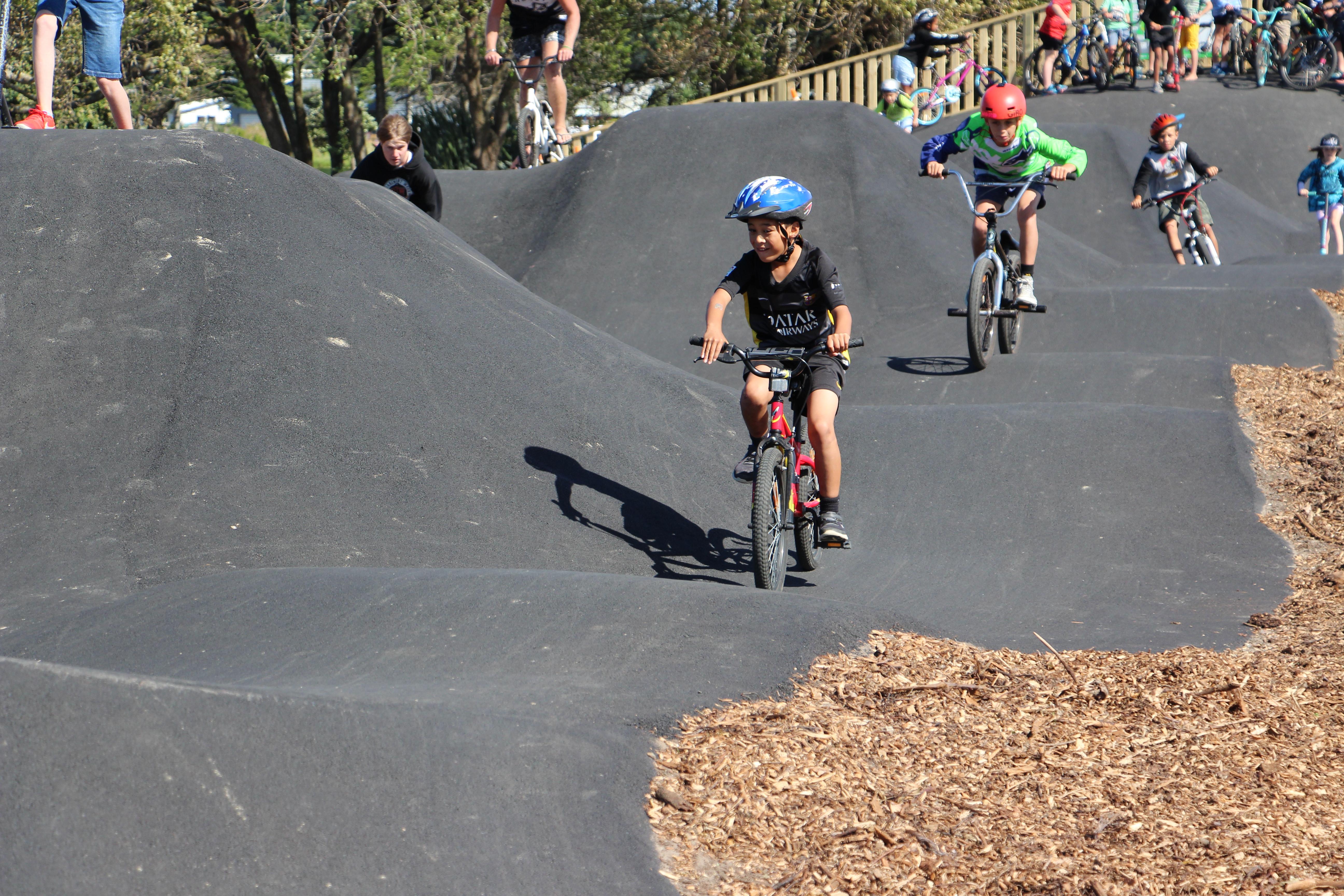 Foxton Beach's pump track finds favour - NZ Herald