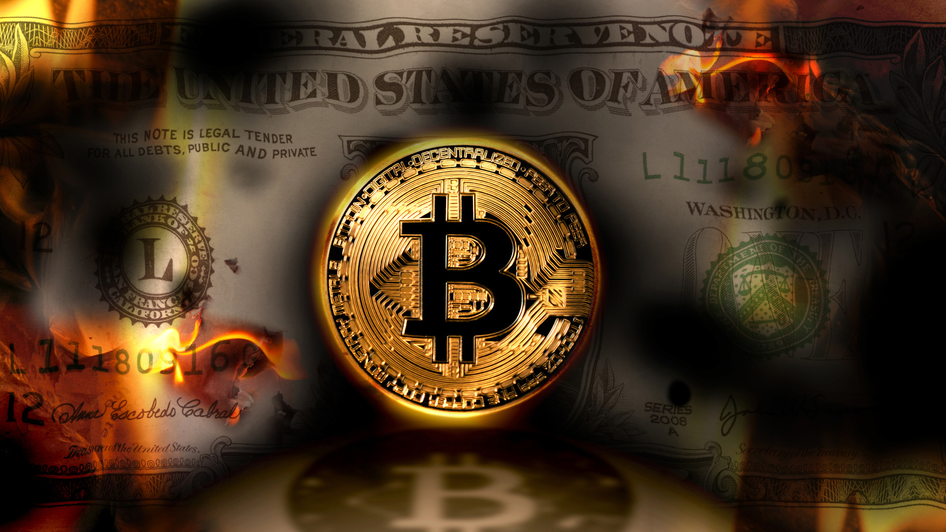 Crypto crash accelerates, sending Bitcoin to lowest level in a year