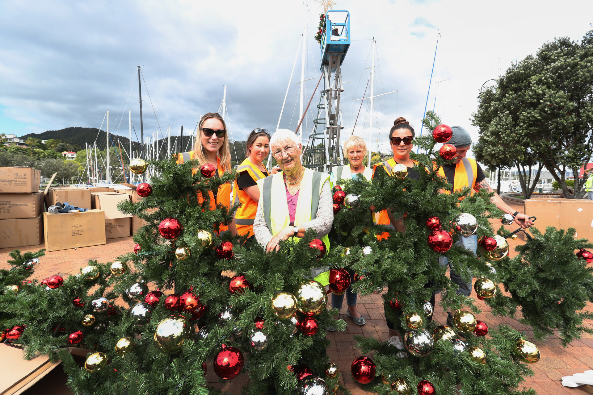 Christmas At The Town Basin And Night Market To Draw Crowds Nz Herald