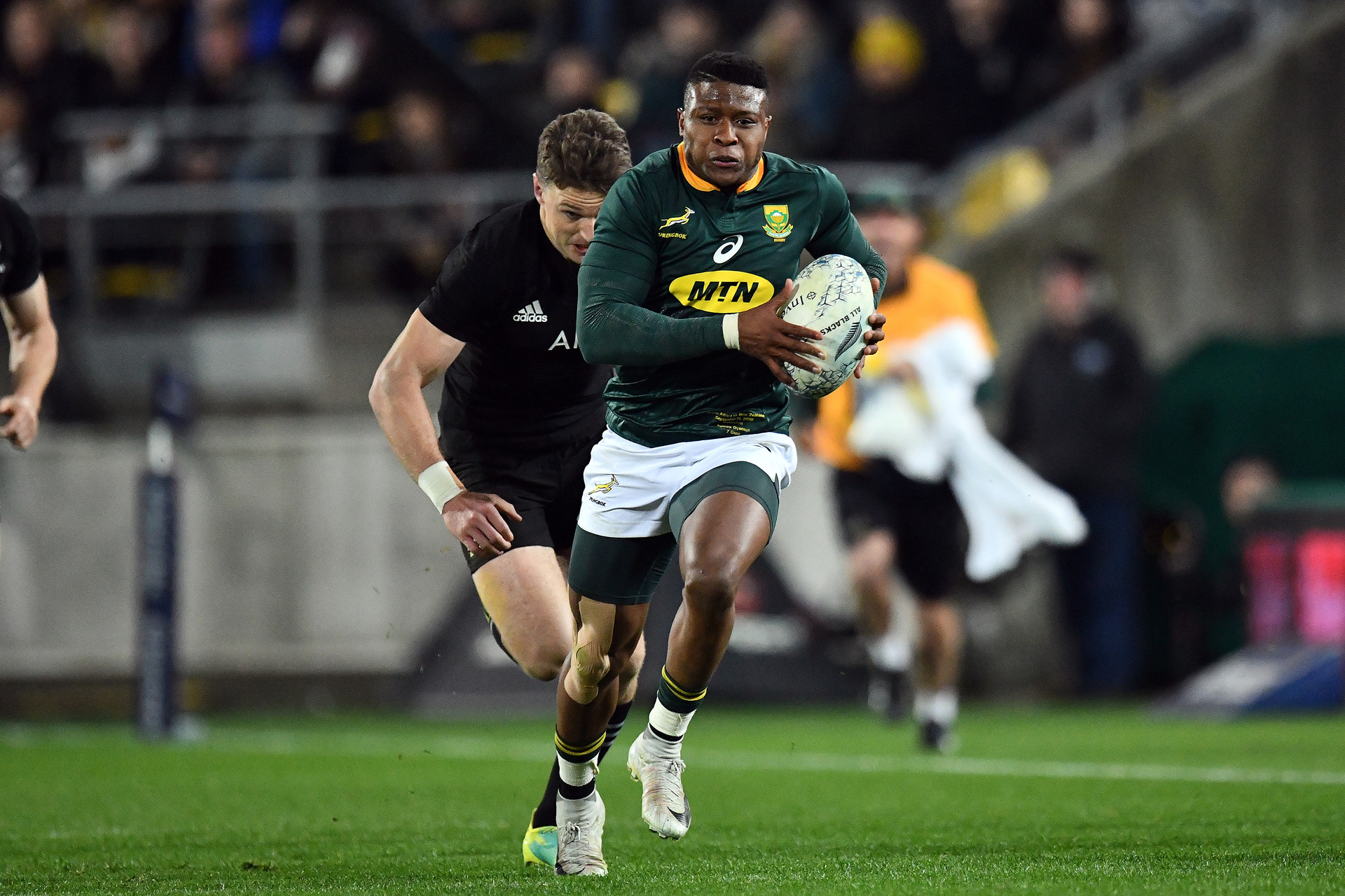 Rugby World Cup: Rising Springboks star Aphiwe Dyantyi tests positive for banned substance